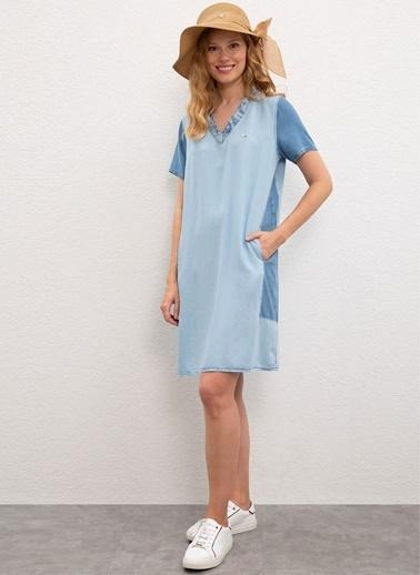 U.S. Polo Assn. Elbise Mavi